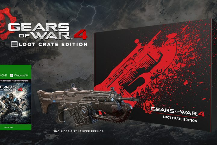 Gears of War 4 Loot Crate Edition angekündigt