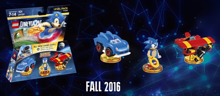 LEGO Dimensions – Sonic Level Pack vorgestellt