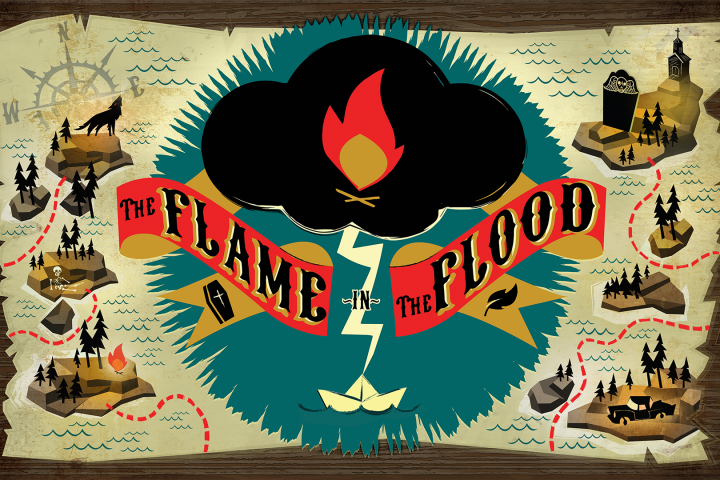 """The Flame in the Flood"" erscheint für Nintendo Switch"