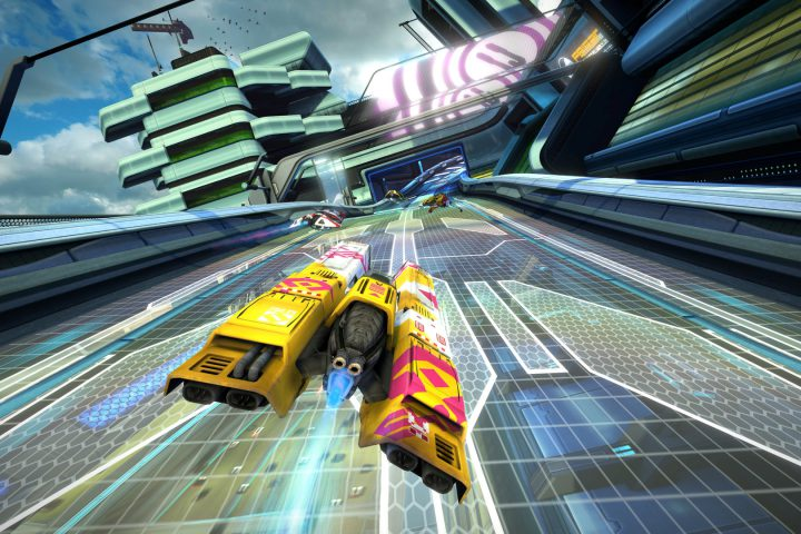 """WipeOut Omega Collection"" erreicht Goldstatus"