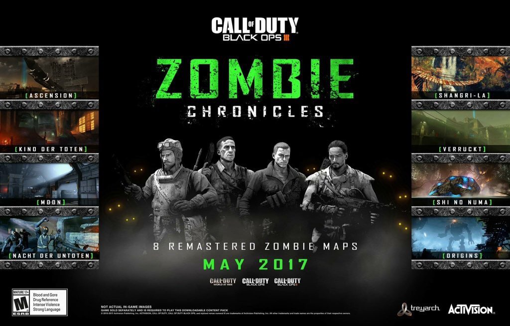 """Call of Duty: Black Ops 3"""" – Zombie Chronicles DLC offiziell ..."""