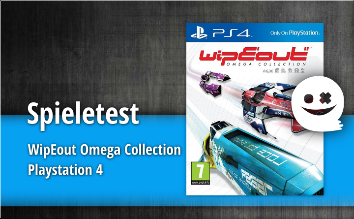 Spieletest – WipEout Omega Collection (PlayStation 4)