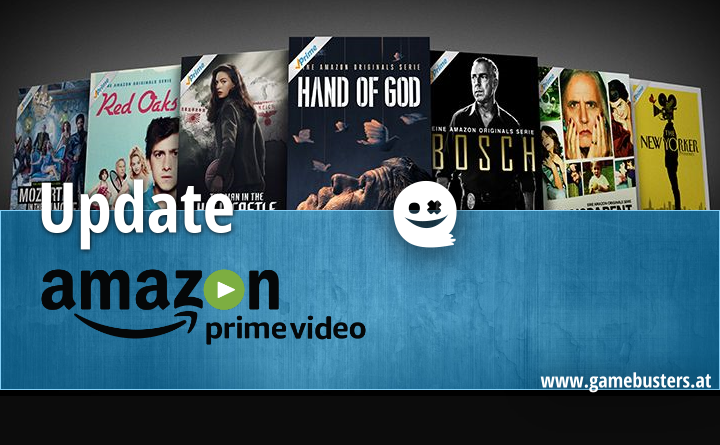 Amazon Prime Video – November 2017 Update