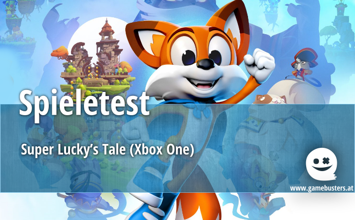 Spieletest – Super Lucky's Tale (Xbox One)