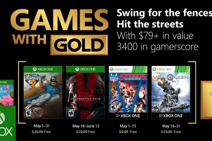Xbox One: Games with Gold Mai 2018