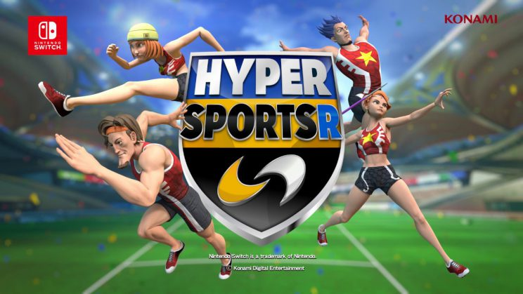 KONAMI kündigt HYPER SPORTS R für Nintendo Switch an [PM]