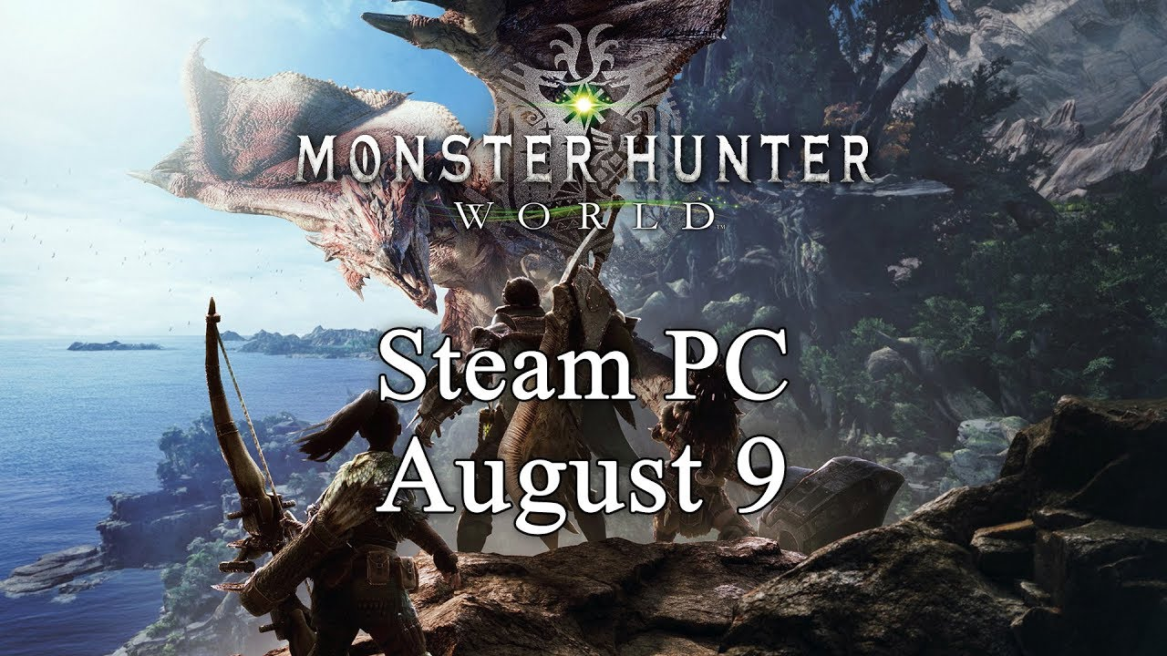 """Monster Hunter World"" erscheint Anfang August via Steam"