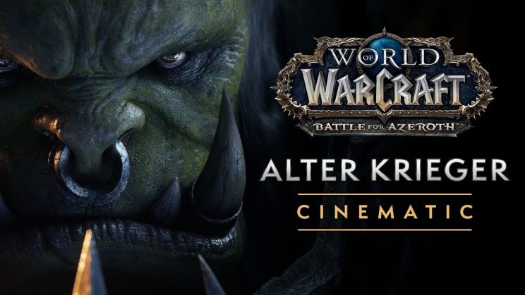 "Varok Saurfang im neuen Cinematic zu ""World of Warcraft: Battle for Azeroth"""