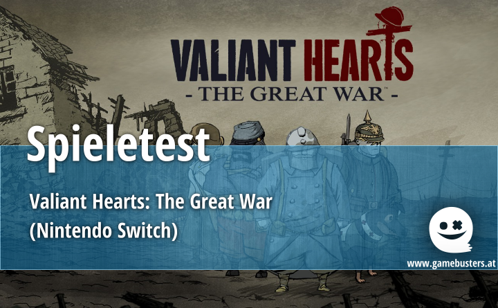 Spieletest – Valiant Hearts: The Great War (Nintendo Switch)