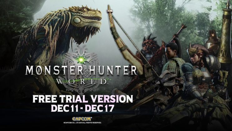 """Monster Hunter: World"" erhält Trial Version"