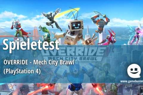 Spieletest – Override: Mech City Brawl (PlayStation 4)