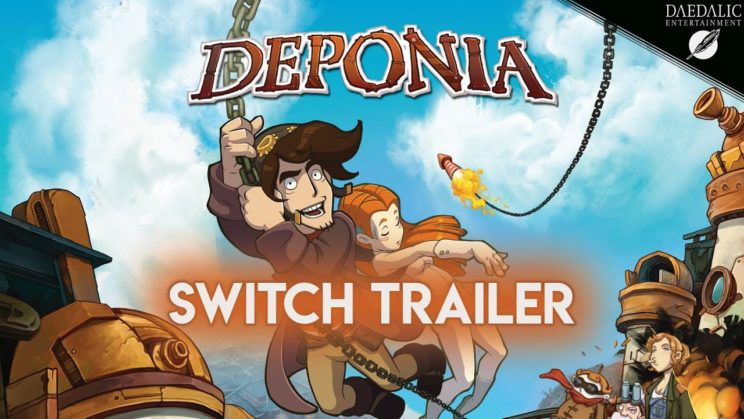 "Point and Click-Adventure ""Deponia"" kommt auf die Nintendo Switch"