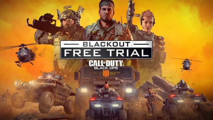 """Call of Duty: Black Ops 4 Blackout"" Trial angekündigt"