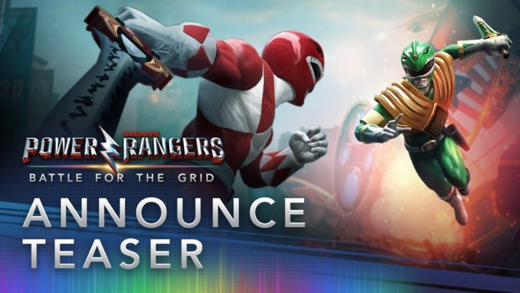"""Power Rangers: Battle for the Grid"" für PC und Konsolen angekündigt"