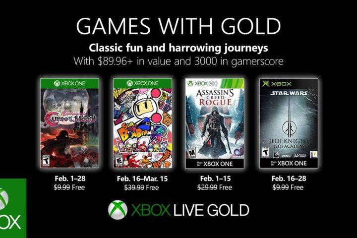 Xbox One: Games with Gold Februar 2019
