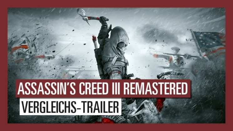 """Assassin's Creed 3 Remastered"" hat einen Releasetermin!"