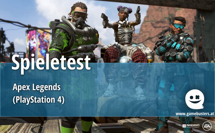 Spieletest – Apex Legends (PlayStation 4)