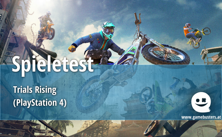 Spieletest – Trials Rising (PlayStation 4)