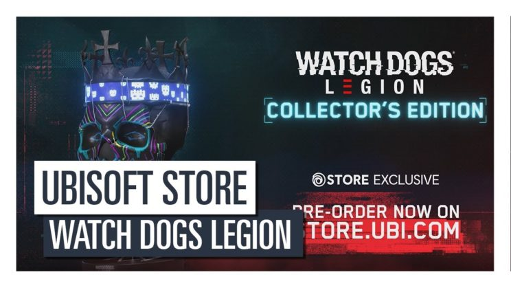 """Watch Dogs Legion"" Collector's Edition vorgestellt"