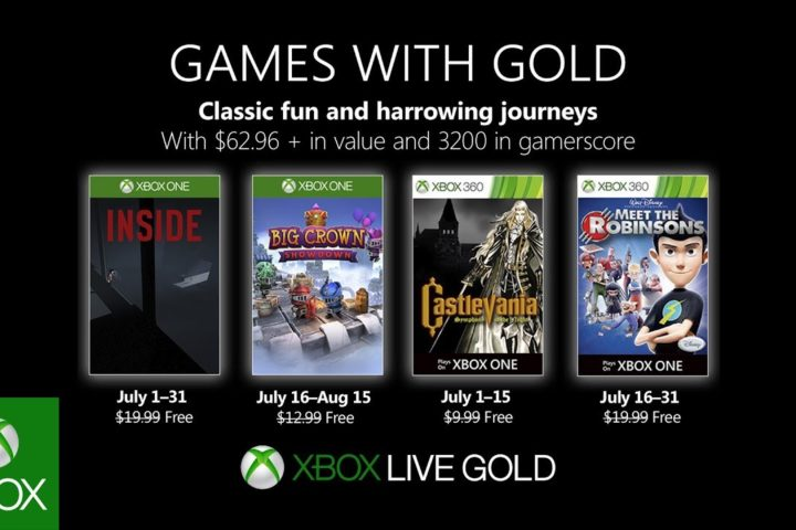 Xbox One: Games with Gold Juli 2019
