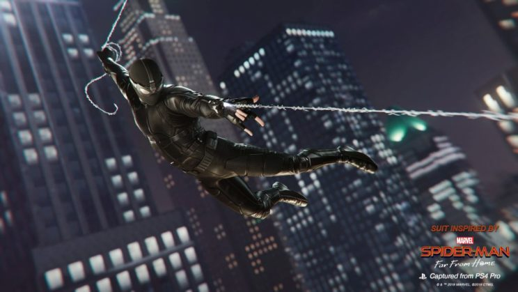 "Neuer Patch von ""Marvel's Spider-Man"" bringt Anzüge aus ""Spider-Man: Far From Home"""
