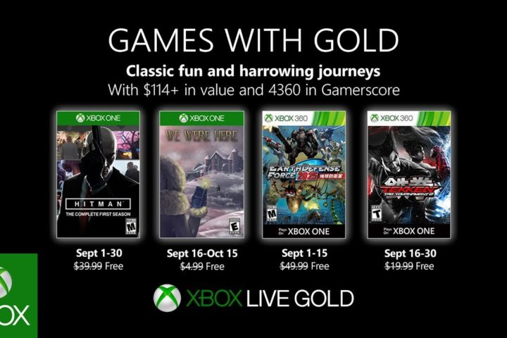 Xbox One: Games with Gold September 2019