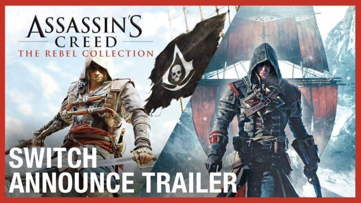 """Assassin's Creed: Black Flag"" und ""Assassin's Creed Rogue"" landen im Dezember auf der Nintendo Switch"