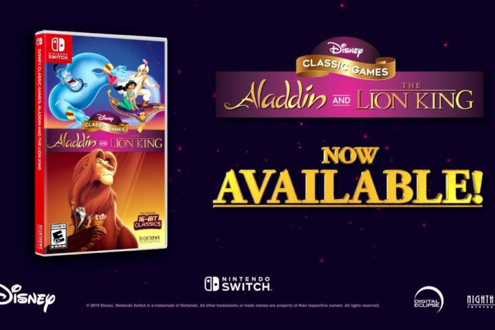 "Disney Classic Games: ""Aladdin"" and ""The Lion King"" ab sofort erhältlich"