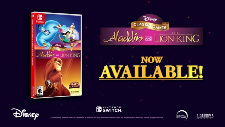 """Disney Classic Games: """"Aladdin"""" and """"The Lion King"""" ab sofort erhältlich"""