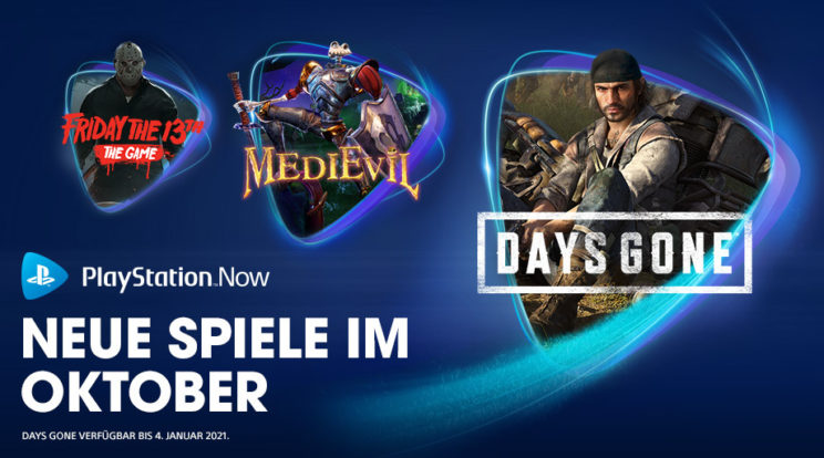 PlayStation Now – Das ist das Line-Up für Oktober 2020!
