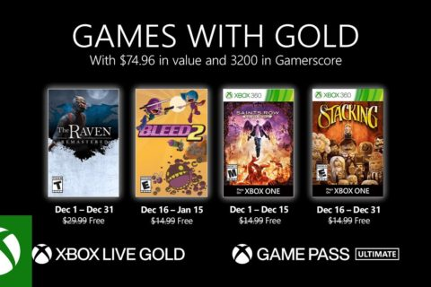 Xbox One: Games with Gold Dezember 2020