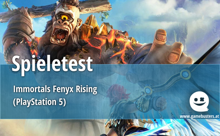 Spieletest – Immortals Fenyx Rising (PlayStation 5)