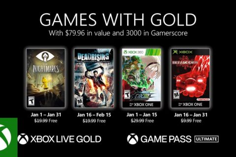 Xbox One: Games with Gold Januar 2021