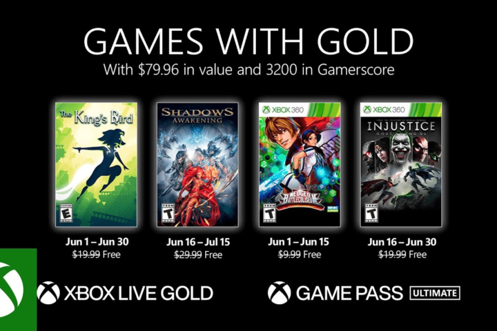 Xbox One: Games with Gold Juni 2021