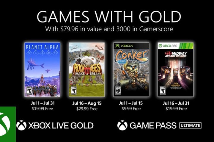 Xbox One: Games with Gold Juli 2021