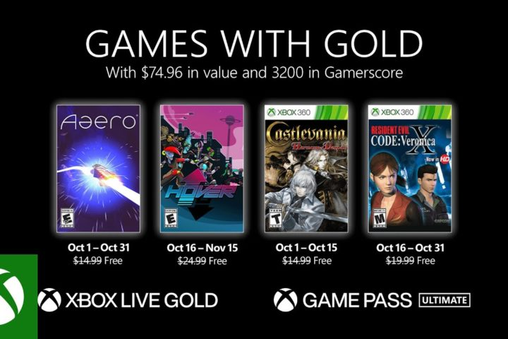 Xbox One: Games with Gold Oktober 2021